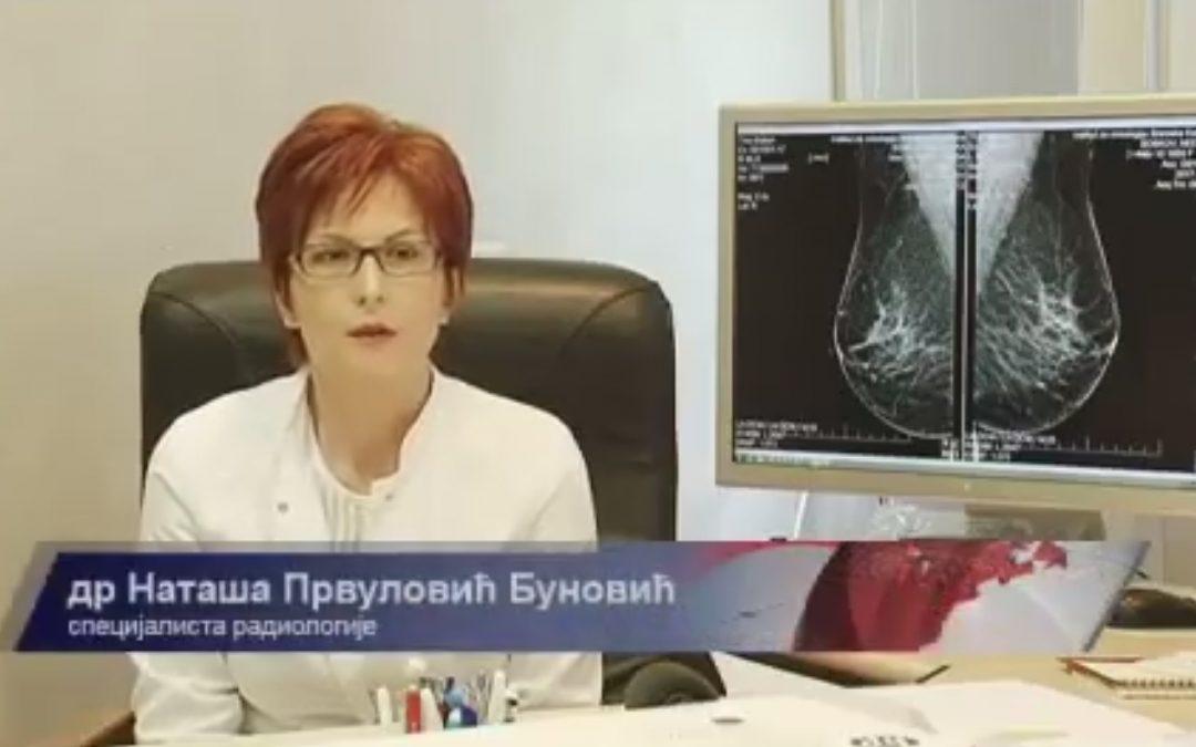 Doc. dr Nataša Prvulović Bunović – Mamografija na Institutu za onkologiju Vojvodine